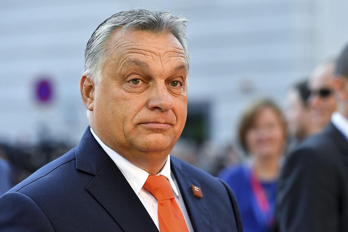Unkarin pääministeri Viktor Orbán EU:n epävirallisessa kokouksessa Itävallan Salzburgissa syykuussa 2018.
