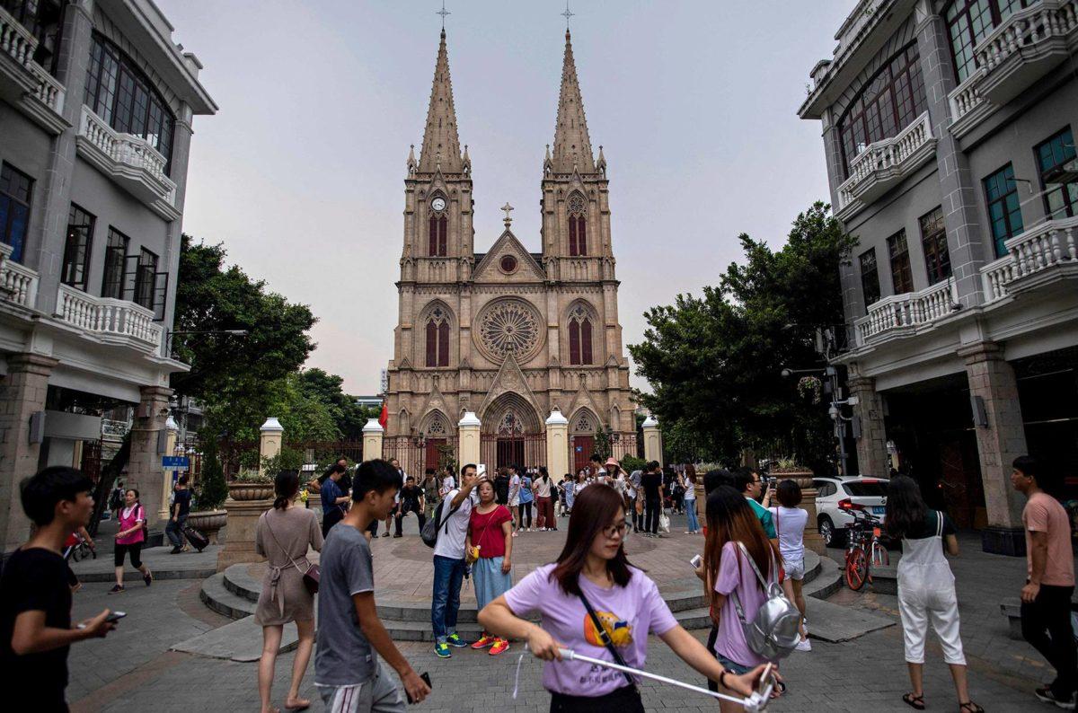 Kiinassa on kymmeniätuhansia kirkkoja.