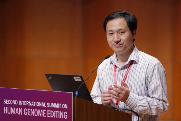 Tutkija He Jiankui 28. marraskuuta 2018.