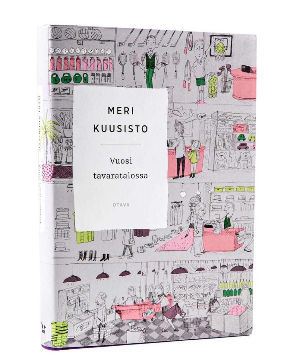 Meri Kuusisto: Vuosi tavaratalossa. 345 s. Otava, 2018.