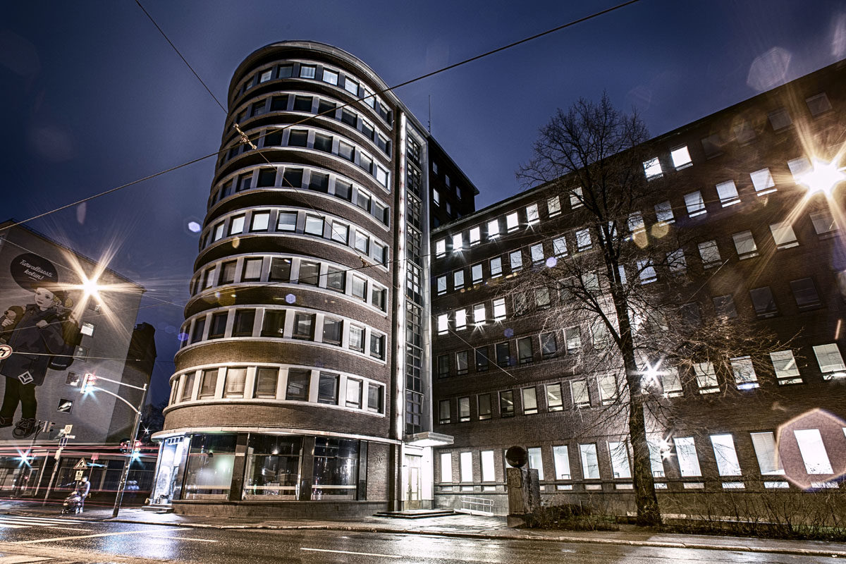 Tradekan osoite on Helsingissä Hämeentiellä.