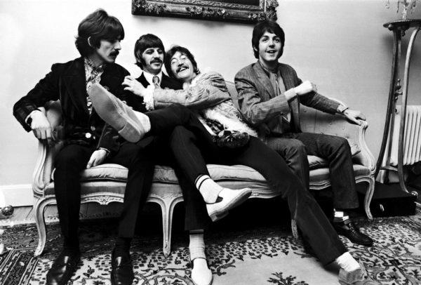 The Beatlesin Sgt. Pepper -albumin lehdistötilaisuus järjestettiin Brian Epsteinin kotona Lontoossa 1967.