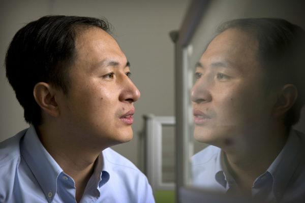 He Jiankui 10. lokakuuta 2018.
