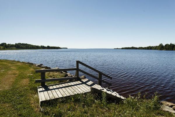 Lappajärvi on muodostunut meteoriittikraateriin.