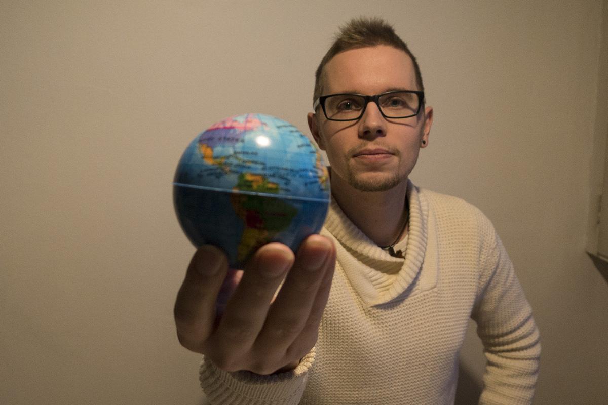 Mikko Valtoselle riittää elämiseen yksi maapallo.