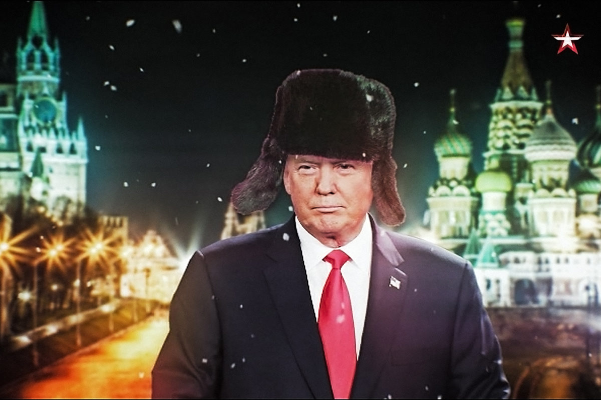 Our New President -dokumentti kertoo Donald Trumpista Venäjän televisiossa.