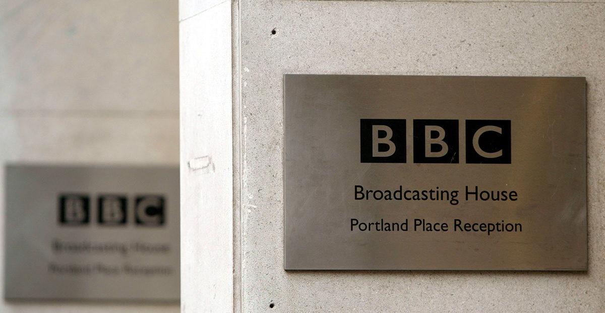 BBC-kyltti. Kuvituskuva.