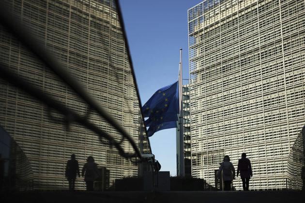 Euroopan komissio Brysselissä.