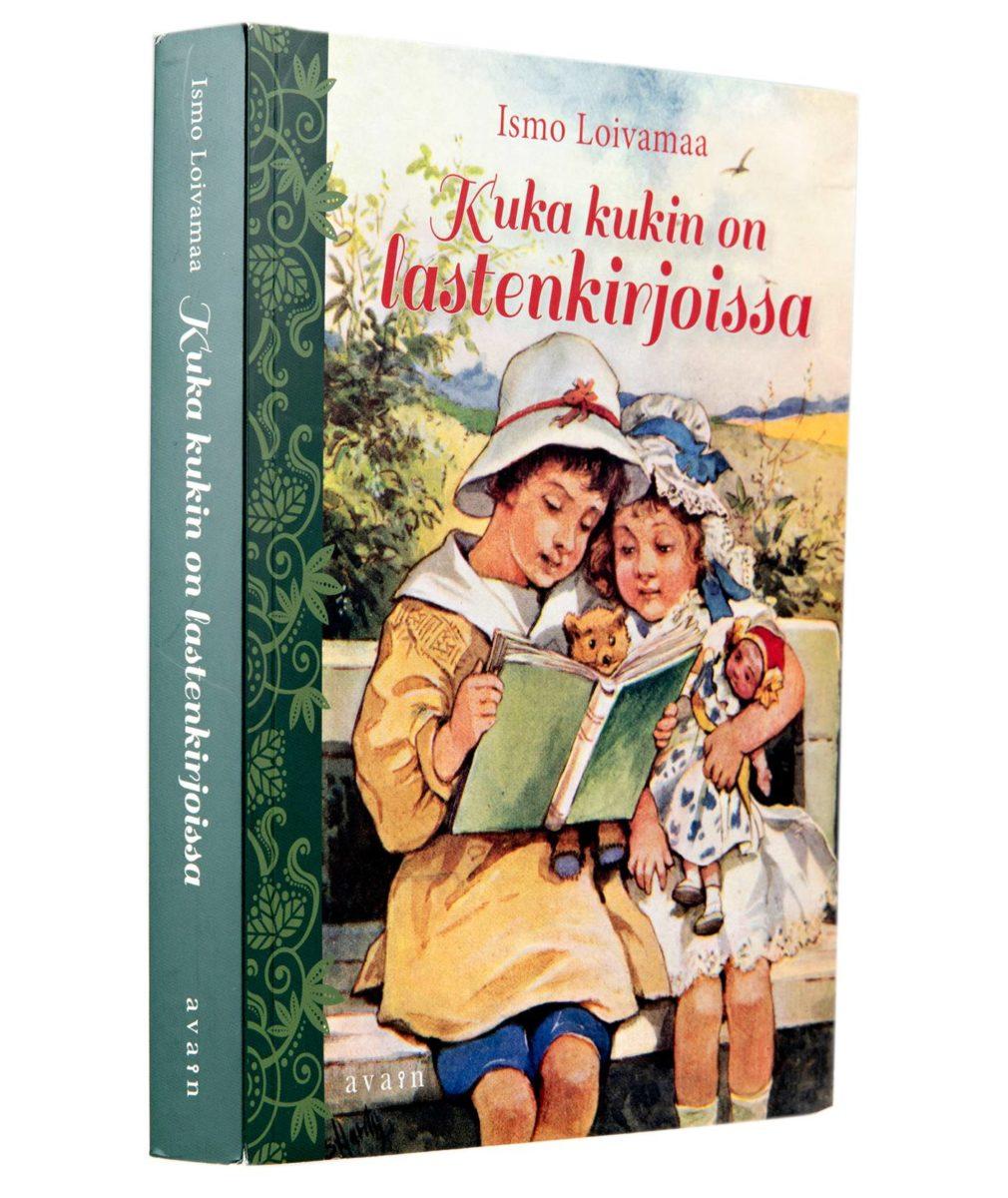 Ismo Loivamaa: Kuka kukin on lastenkirjoissa. 403 s. Avain, 2018.