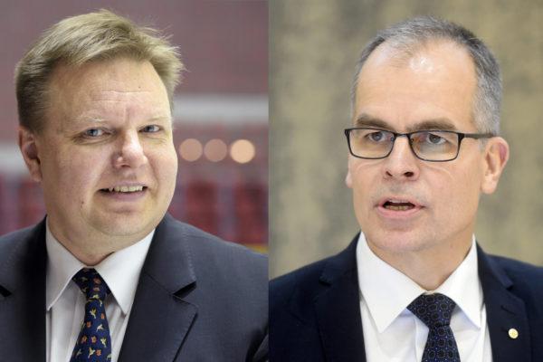 Harri Nummela ja Olli Lehtilä.