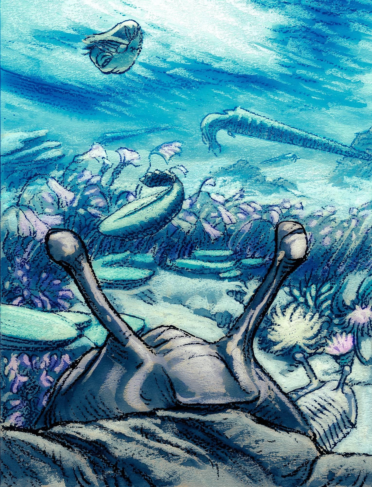 Oliko trilobiitti ensimmäinen, joka näki Pasilan?