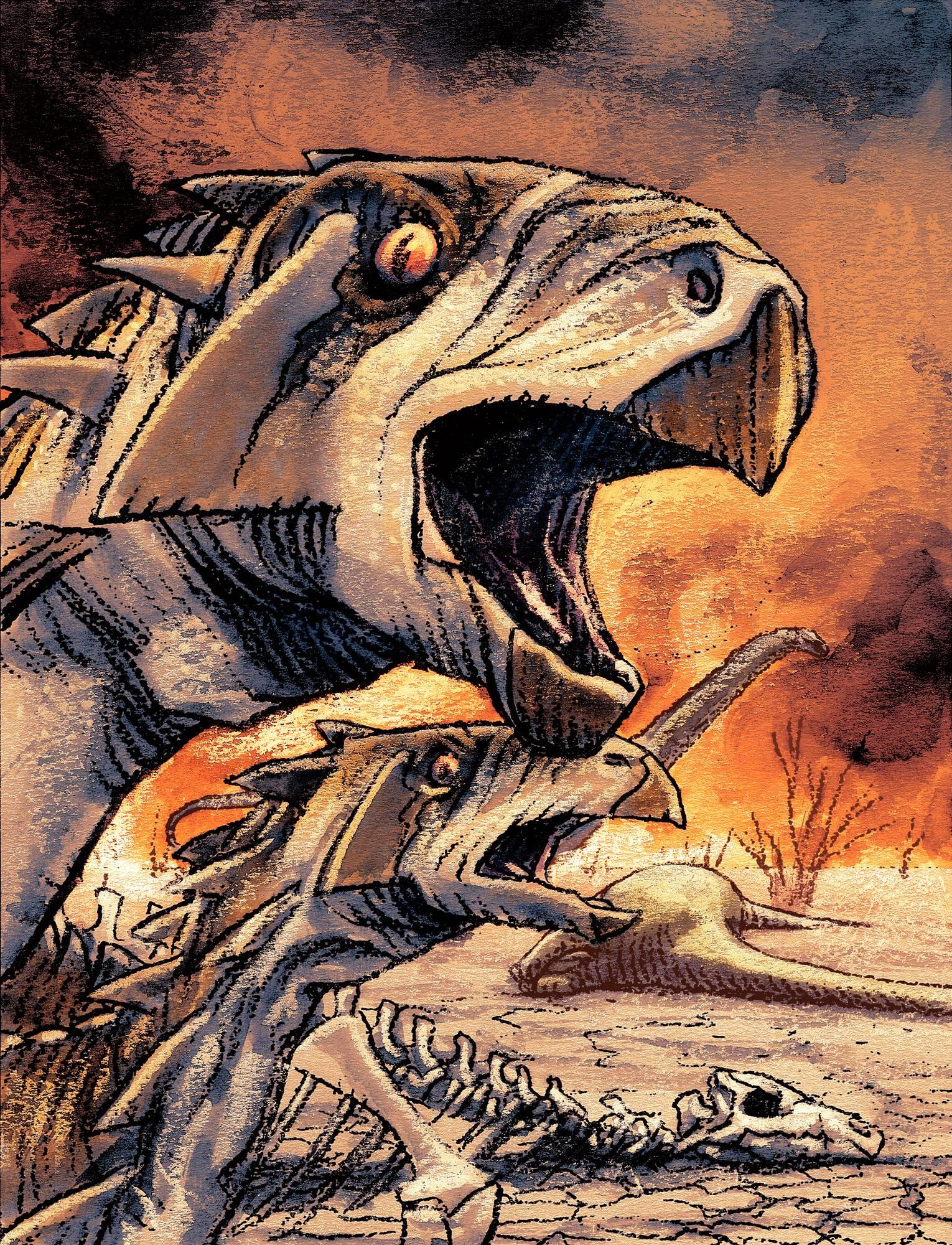 Uskotaan, että Pasilassakin oli dinosauruksia.