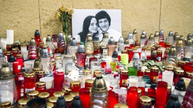 Toimittaja Ján Kuciak ja hänen kihlattunsa Martina murhattiin 21. helmikuuta 2018.