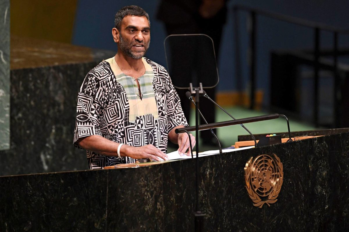 Kumi Naidoo aloitti Amnesty Internationalin johdossa elokuussa 2018.
