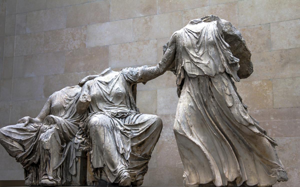 Parthenonin veistoksista puolet on ollut British Museumissa vuodesta 1817.