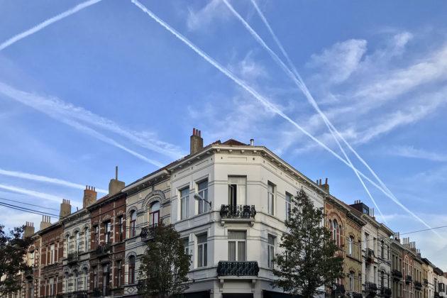 Brysselin taivaalla on ruuhkaa. Belgia on yksi eurooppalaisen lentoliikenteen vilkkaimmista solmukohdista.