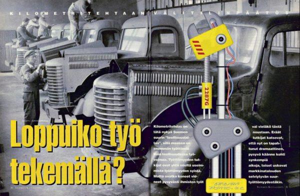 """SK 11/1994 (18.3.1994) Jukka Ukkola: """"Loppuiko työ tekemällä?"""""""