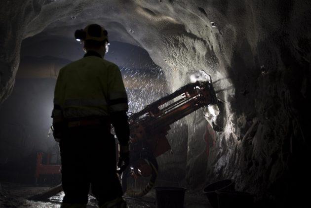 Oriveden Dragon Miningin kultakaivos elokuussa 2015.