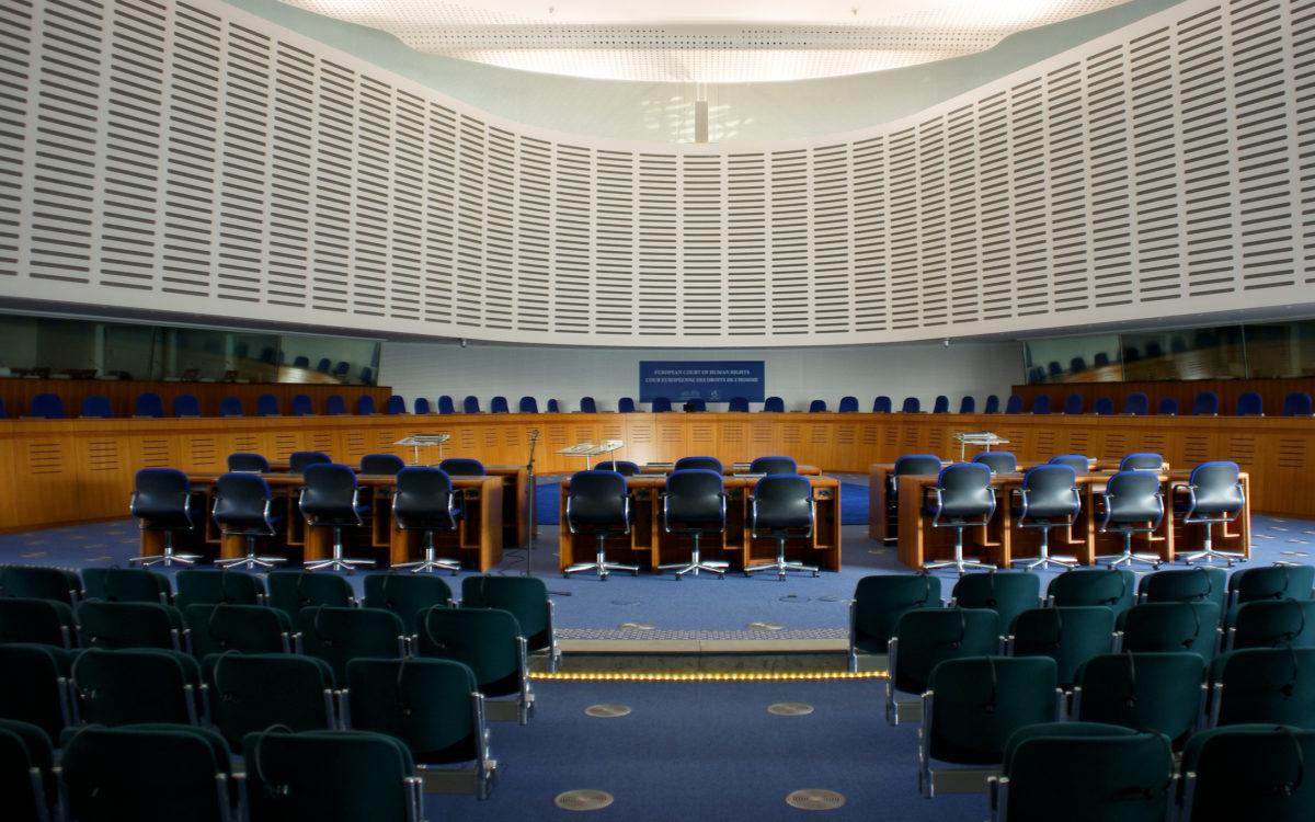 Euroopan ihmisoikeustuomioistuin Ranskan Strasbourgissa.