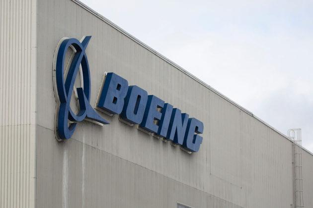 Boeingin tehdas Rentonissa Washingtonin osavaltiossa Yhdysvalloissa.