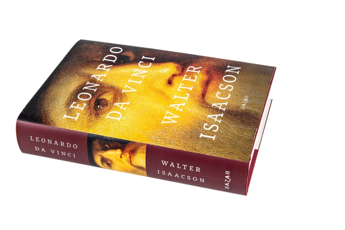 Walter Isaacson: Leonardo da Vinci. Suom. Tero Valkonen. 592 s. Bazar, 2019.