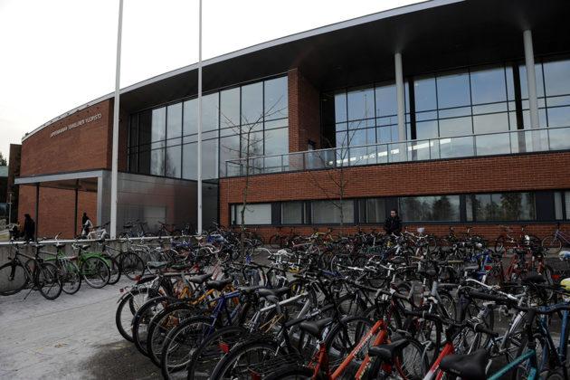 Pyöristäkin sen näkee: Lappeenrannan teknillisen korkeakoulun opiskelijoista enemmistö on miehiä.