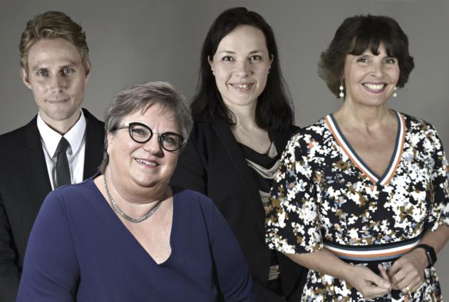 Antero Vartian (vihr), Jaana Laitinen-Pesolan (kok), Hanna Halmeenpään (vihr) ja Anne Bernerin (kesk) kansanedustajaura jää yhteen kauteen.