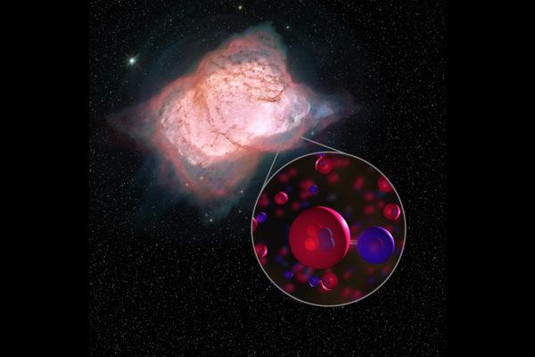 Molekyyli havaittiin 3 000 valovuoden päästä Joutsenen tähdistöstä.