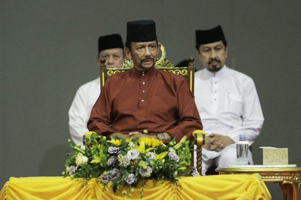 Brunein sulttaani Hassanal Bolkiah 3. huhtikuuta 2019.