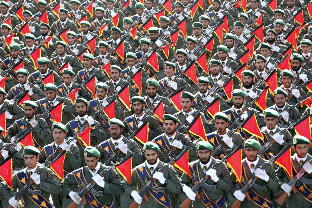 83 miljoonan asukkaan Iran on merkittävä sotilasmahti.