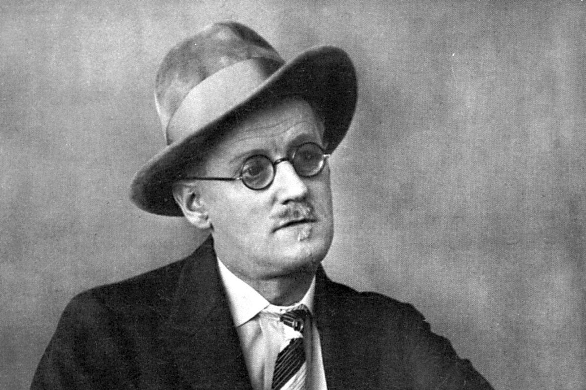 James Joyce vuonna 1928.