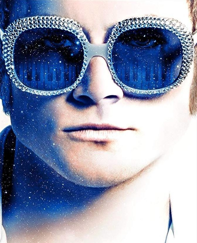 Taron Egerton on Elton John.