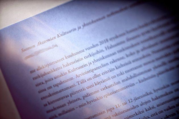 Yli 30 tutkijaa vaatii Suomen Akatemian hakua samankaltaiseksi kuin ennen.