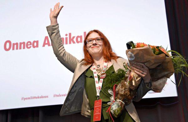 Pamin uusi puheenjohtaja Annika Rönni-Sällinen on koulutukseltaan juristi.