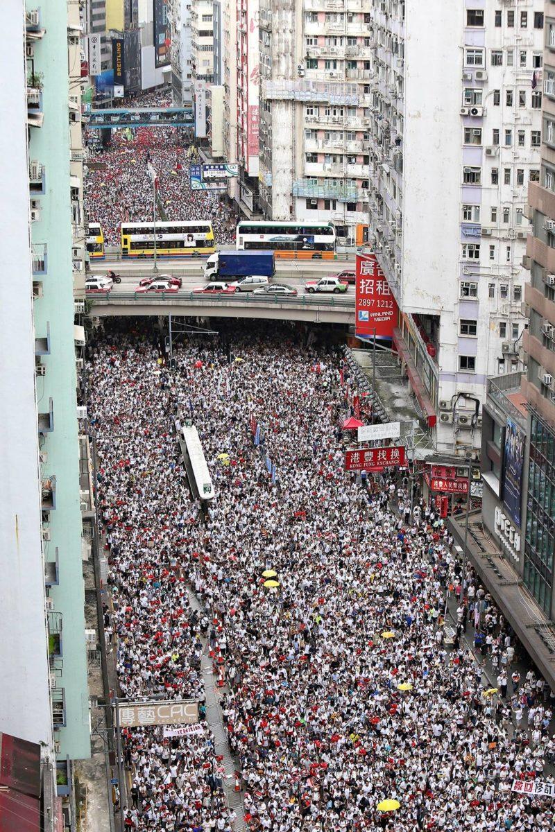 Hong Kong Mielenosoitus