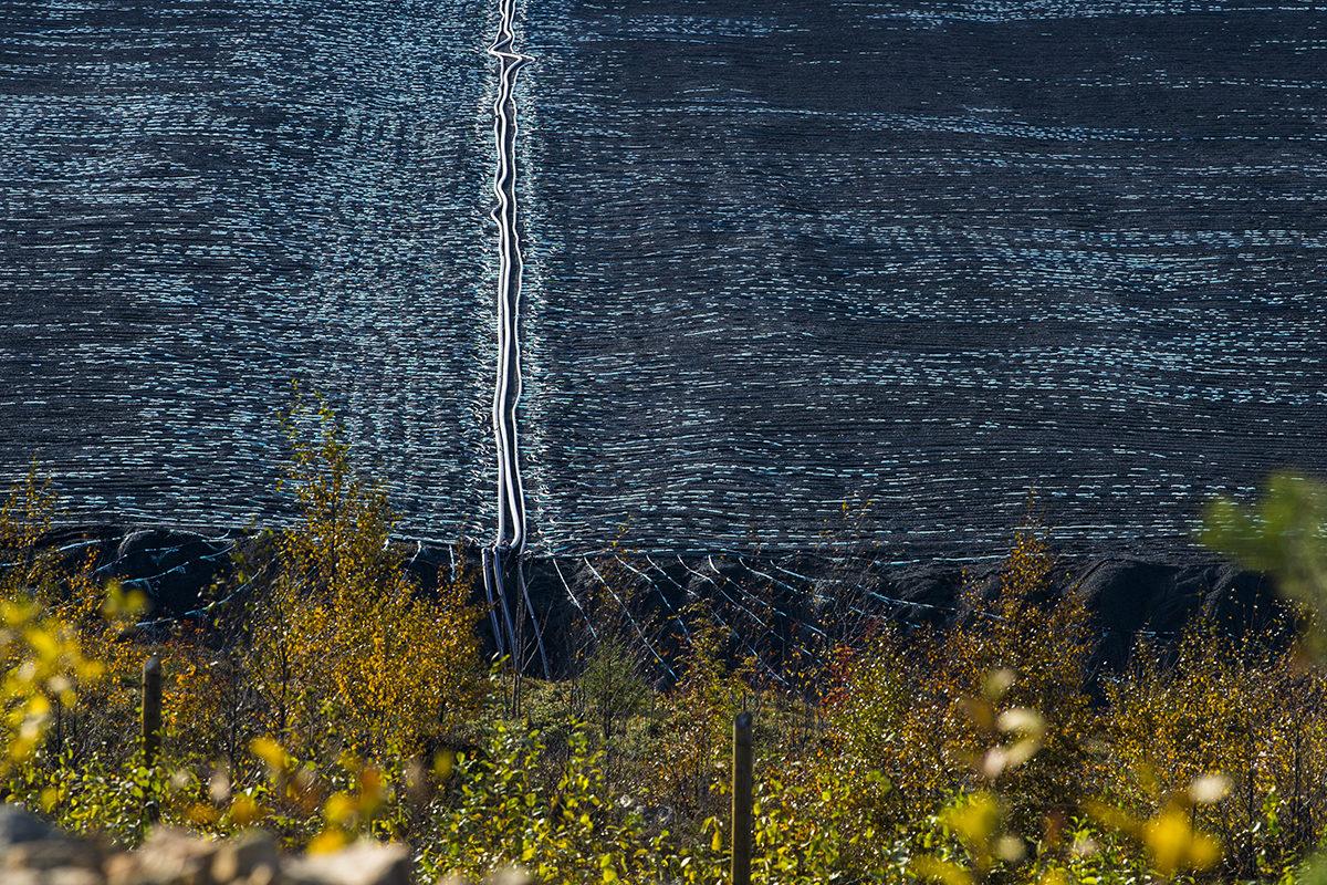 Terrafamen kaivos Sotkamossa lokakuussa 2018.