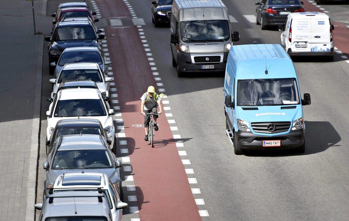 Pyöräilyn turvallisuus on lisääntynyt myös Suomessa.