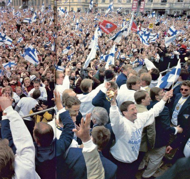 """SK 19/1995 (12.5.1995) Saska Saarikoski: """"Ilo pitkästä itkusta"""""""