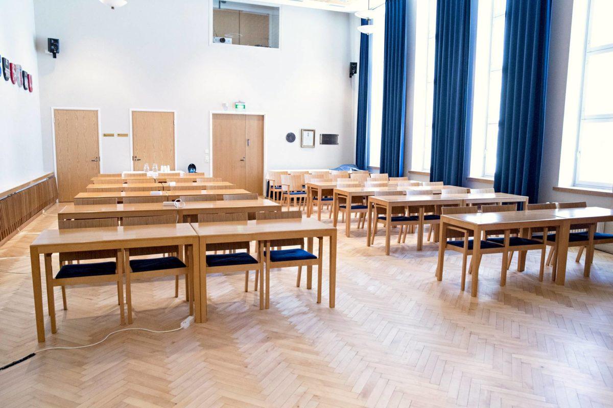 Kittilän kuntapäättäjiä vastaan nostettua juttua käsiteltiin aluehallintoviraston tiloissa Rovaniemellä.