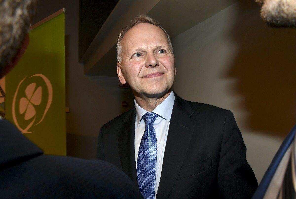 Jari Leppä (kesk) jatkoi maa- ja metsätalousministerinä myös Antti Rinteen (sd) hallituksessa.