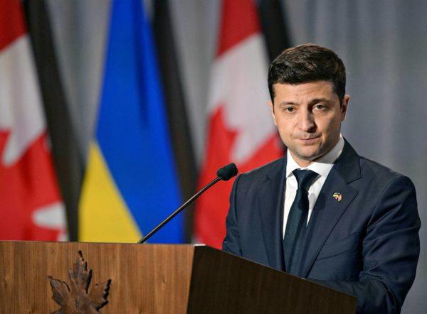 Ukrainan presidentti Volodymyr Zelenskyi vieraili Kanadassa heinäkuun alussa.