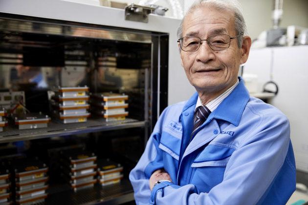 Japanilaisen Akira Yoshinon kehittämä litium-ioniakkuteknologia on käytössä miljardeissa laitteissa eri puolilla maailmaa.