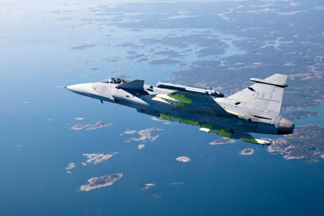 Gripen E on ruotsalaisen Saab-yhtiön ehdokas Suomen uudeksi hävittäjämalliksi.
