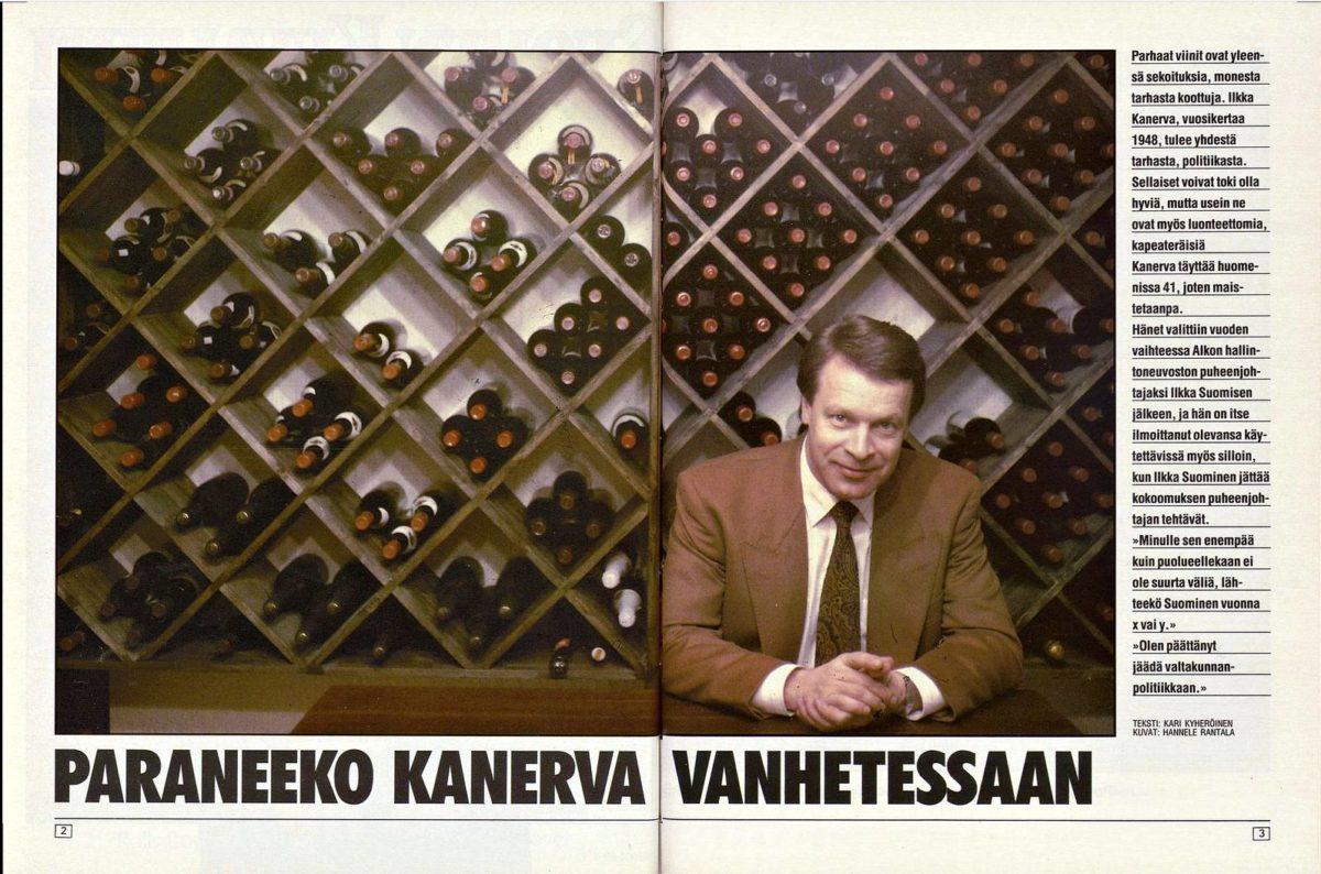 SK 4/1989 (27.1.1989) Kari Kyheröinen: Paraneeko Kanerva vanhetessaan