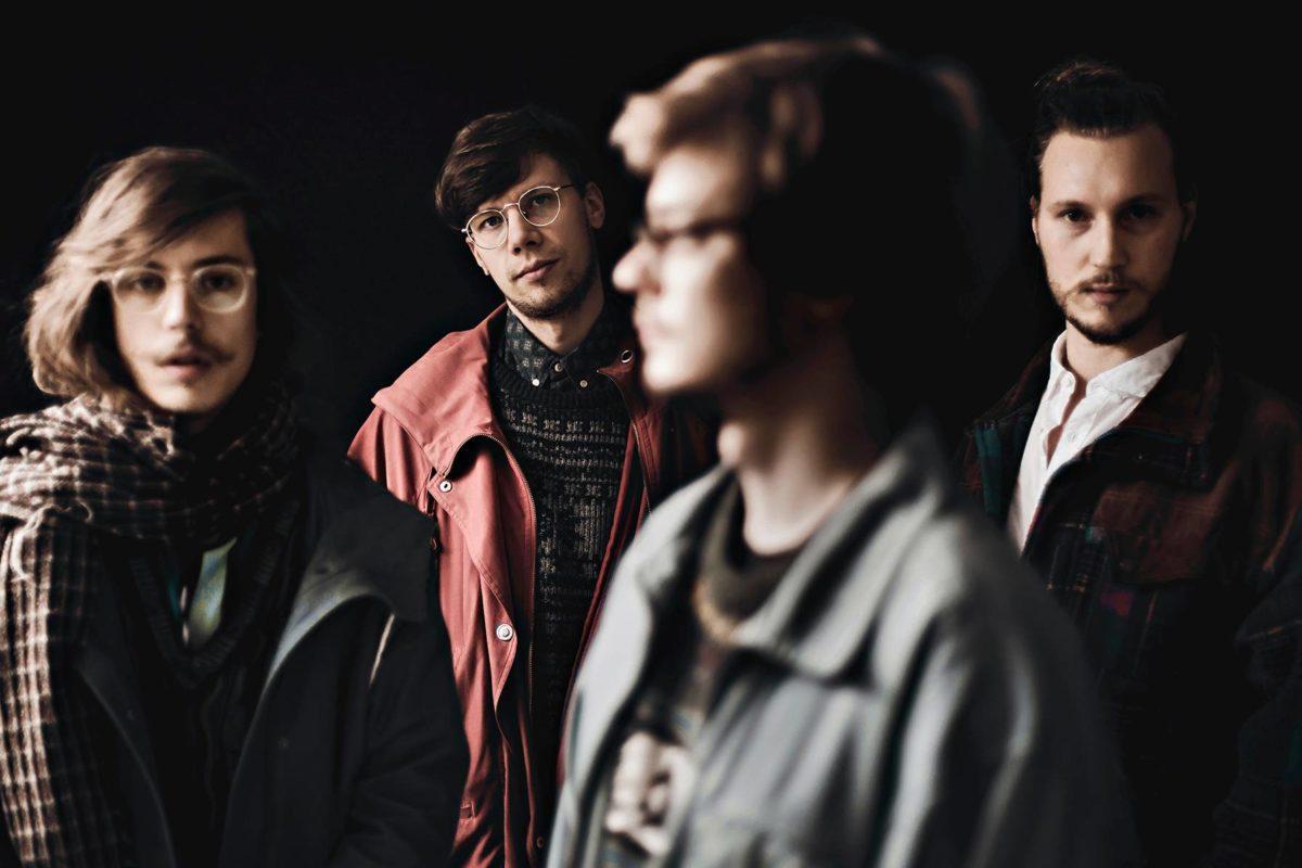 OK:KO-yhtyeessä soittavat Mikael Saastamoinen (vas.), Okko Saastamoinen, Toomas Keski-Säntti ja Jarno Tikka.