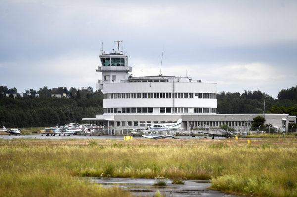 Malmin lentoasema 2. heinäkuuta 2019.
