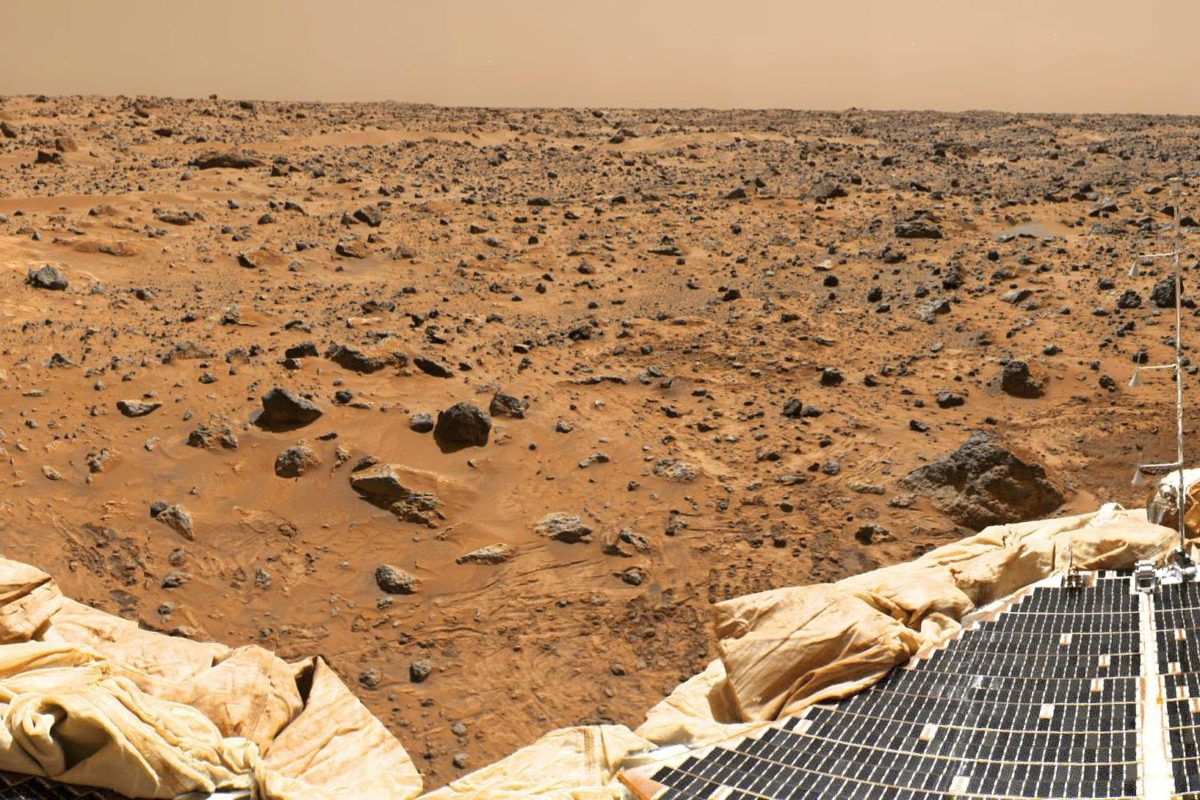 Mars Pathfinder -luotain lähetti 1990-luvulla kuvia planeetan pinnalta.
