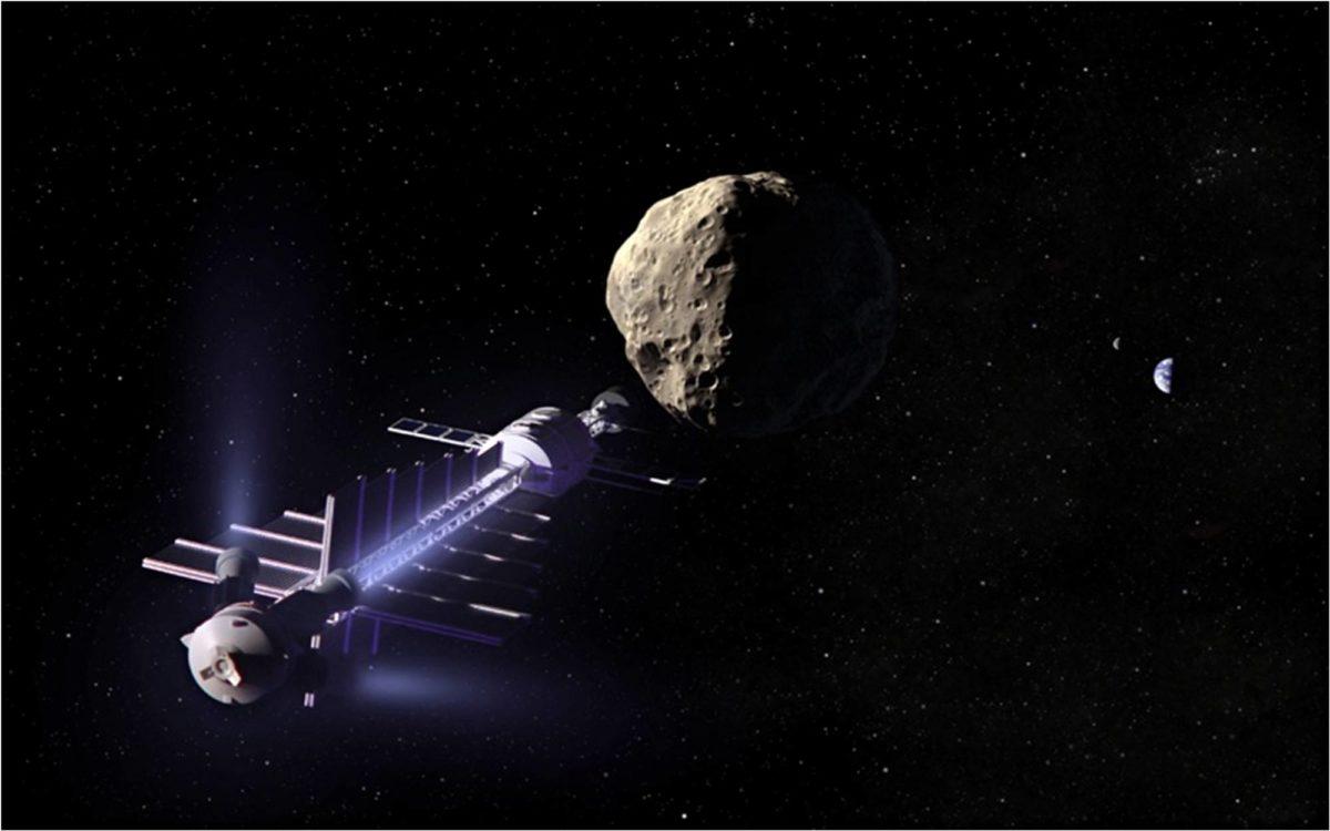 Gravitaatiotraktorilla asteroidi voitaisiin hilata uudelle radalle. Se veisi kuitenkin useita vuosia.