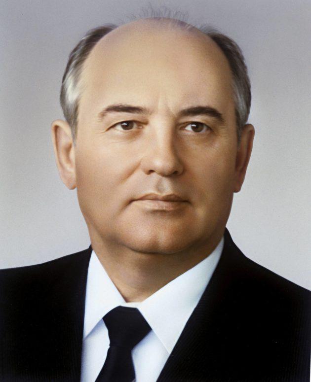 Mihail Gorbatšov johti Neuvostoliittoa vuosina 1985–1991.