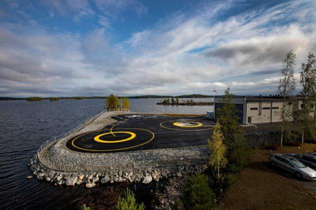 Finnhemsin tukikohdassa Kuopiossa työskentelee 32 henkilöä.